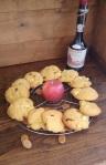 Cookies à la normande : pommes, calvados, caramels